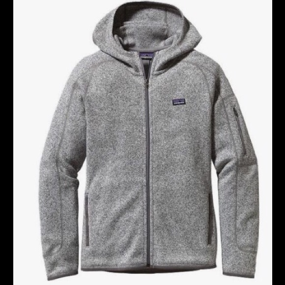 Patagonia Jackets & Blazers - Women's gray hooded zip up Patagonia jacket L